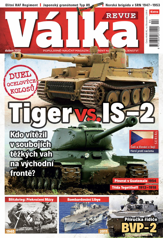 Válka Revue 4/2019 - Tiger vs. IS-2